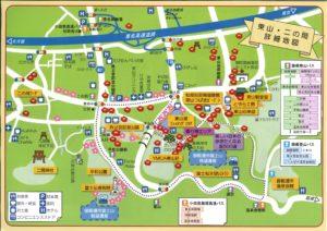 御殿場椿・花MAP 東山・二の岡地区 御殿場市201903