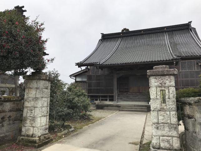 永願寺本堂20190310_1