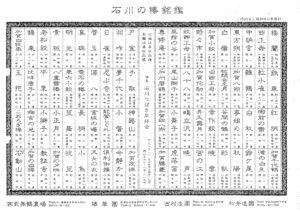 石川の椿名鑑 昭和60年(1985年)発行